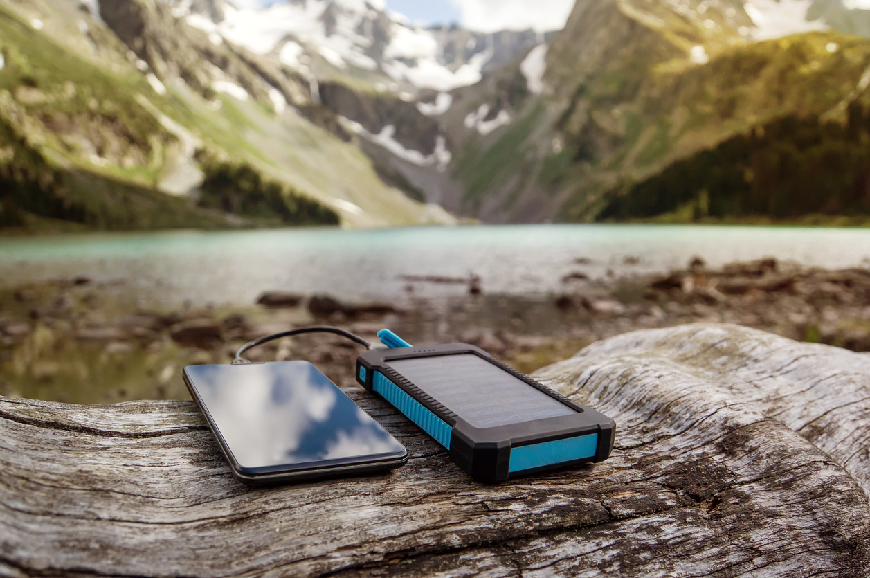 eco-friendly-camping-accessories-phone-charging