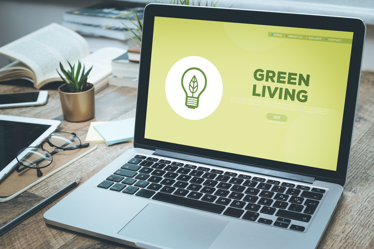 learning how to save energy in your apartment from an online website