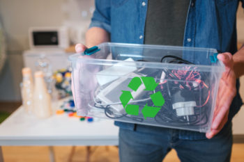Recycle Cumbersome Waste Like Electronics