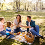 picnic at the park | eco friendly outdoor picnic