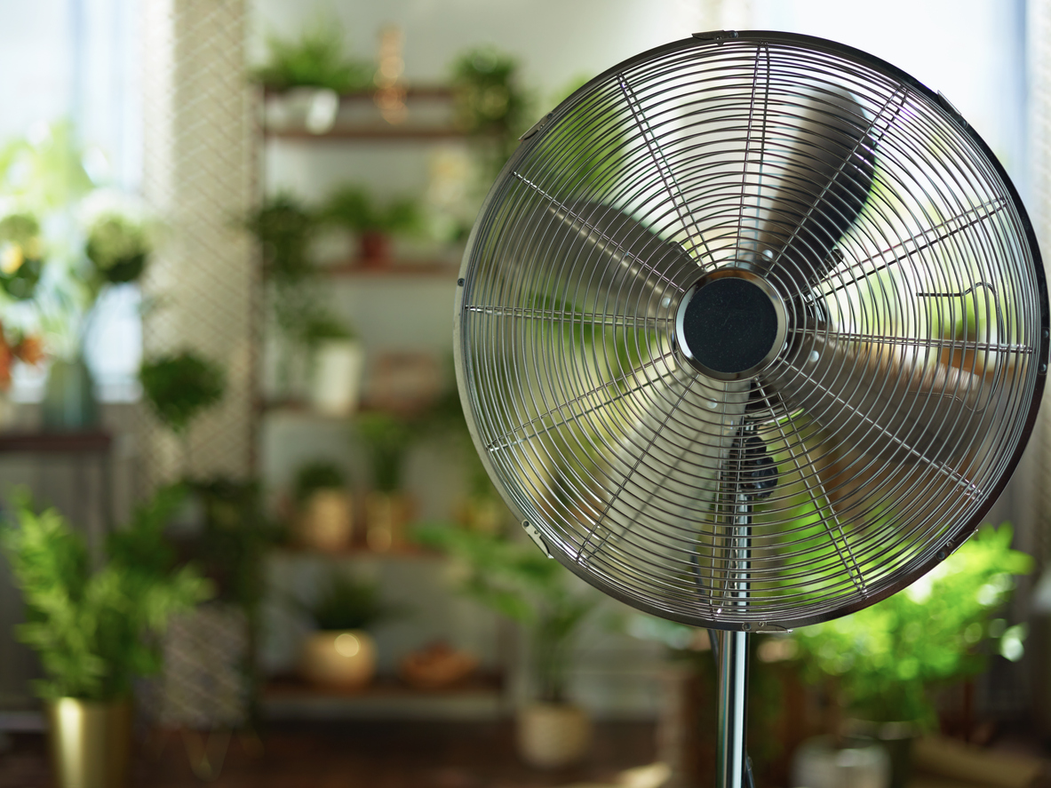 fan in an apartment | cool your apartment without AC